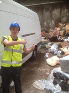No need to worry – we never flytip