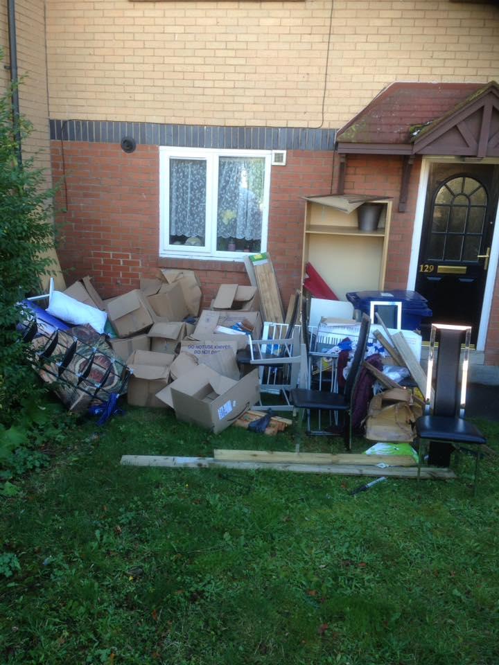 Rubbish Clearance in Fenham, Newcastle