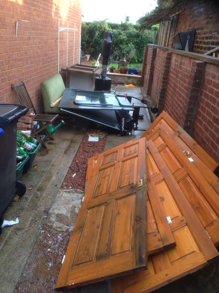 Yard Clearance in Morpeth