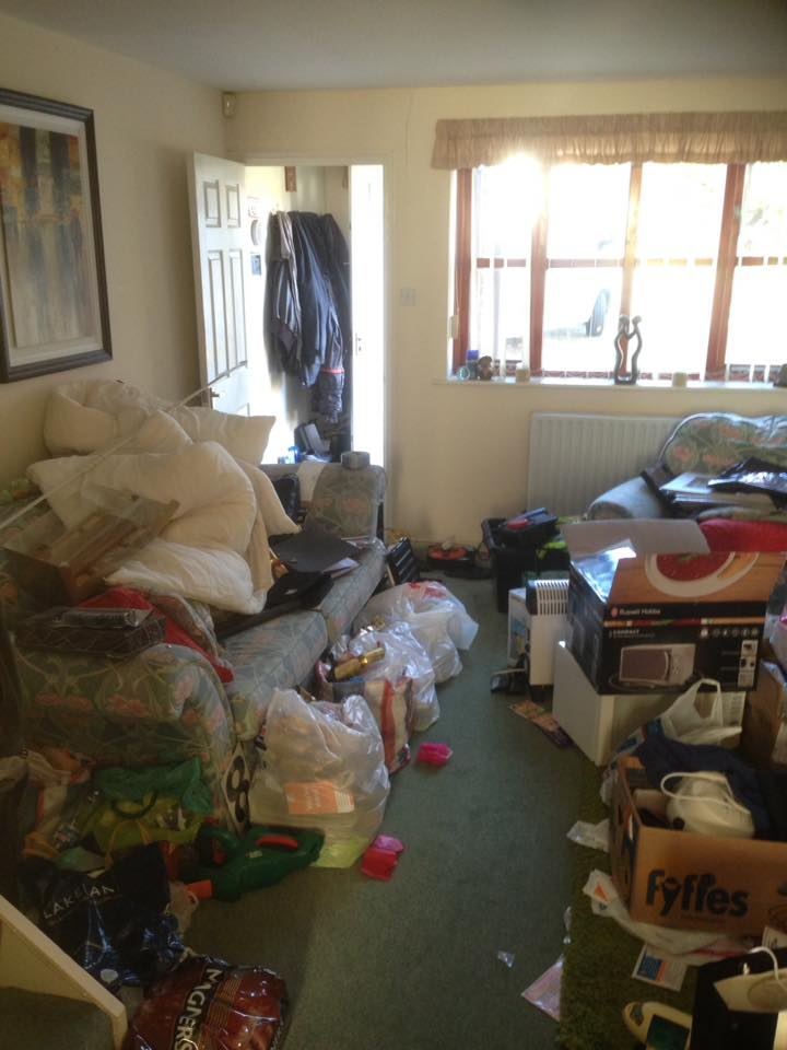 Cluttered House Clearance in Gateshead Cleared Over 8 Days