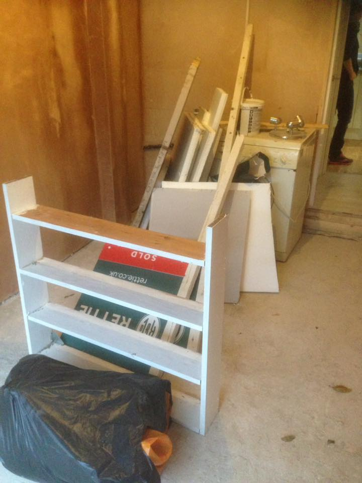 DIY clearance in South Gosforth, Newcastle