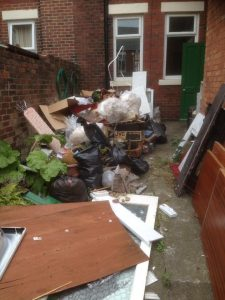 Yard Clearance In Westoe, South Shields