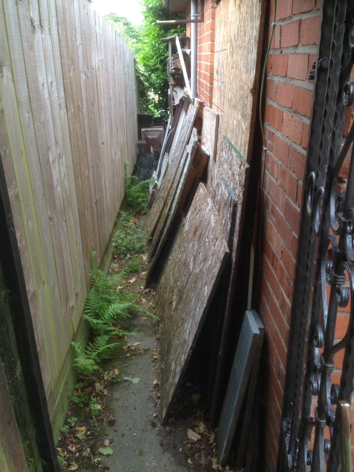 Rubbish Removal From A Property In Rowlands Gill