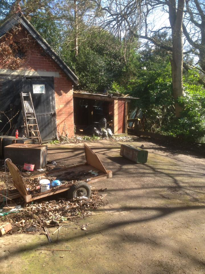 Large Garden Clearance In Rowlands Gill – 12 Van Loads – Over 8 Tonne Cleared