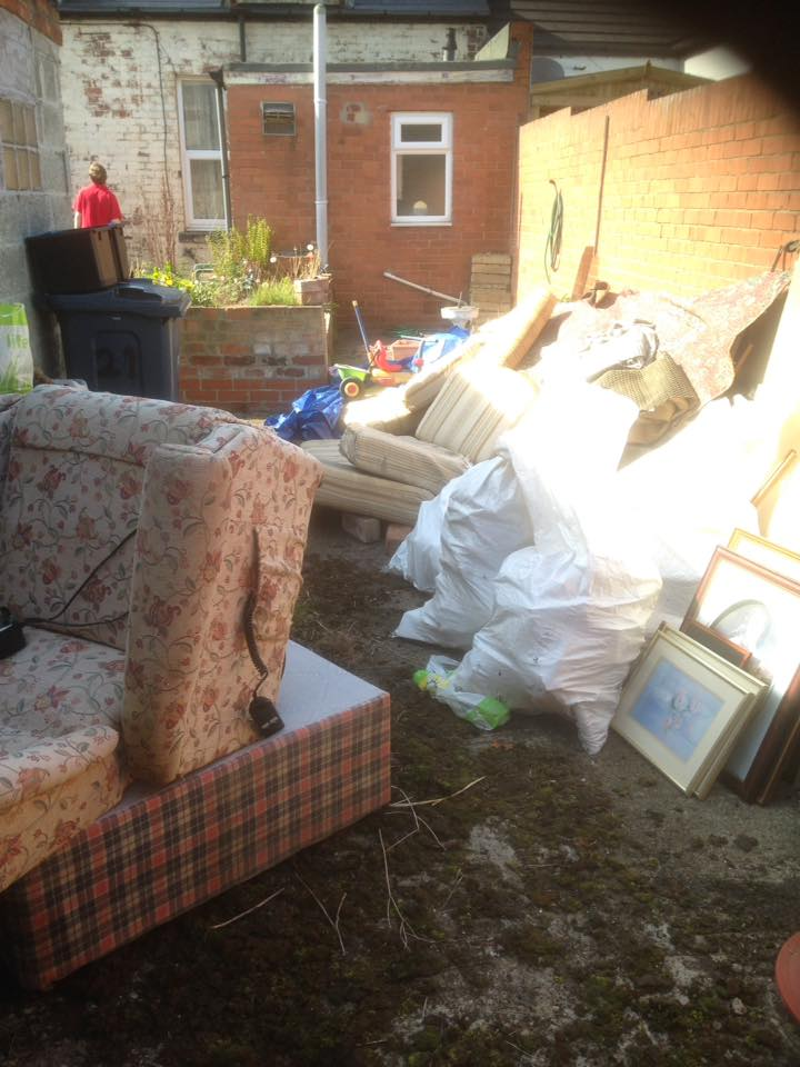 2 Bedroom House Clearance & Yard Clearance In Grangetown, Sunderland