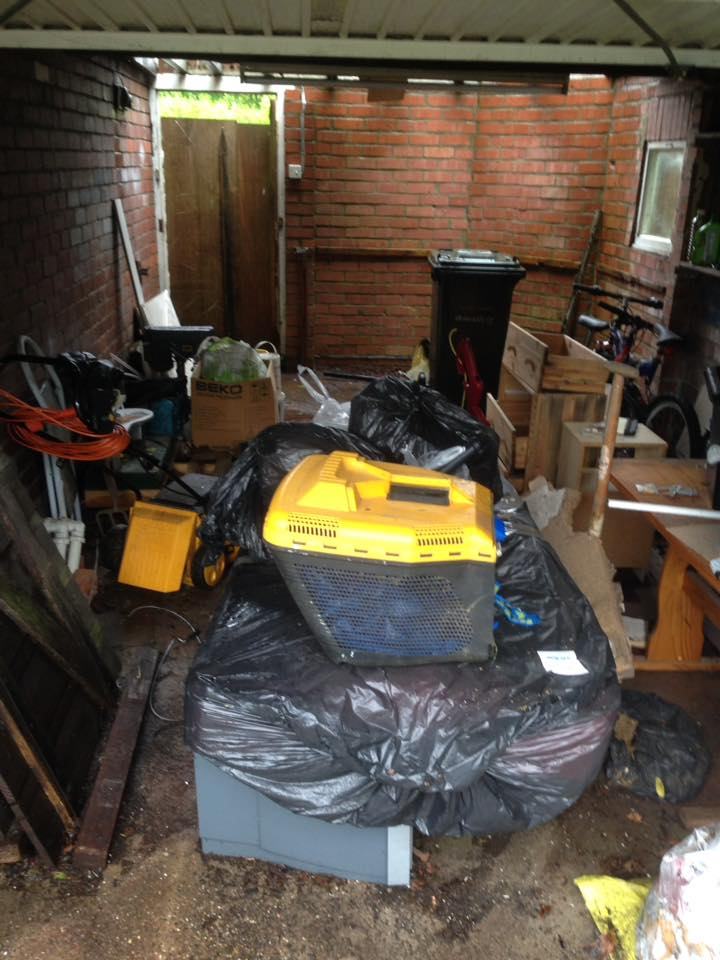 Garage Clearance In Westerhope, Newcastle