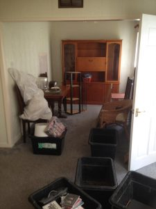 2 Bedroom House Clearance With Garage & Carpet Removal In Cramlington