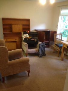 Studio Apartment With Carpet Removal In Sheltered Accommodation Cleared In Walkergate