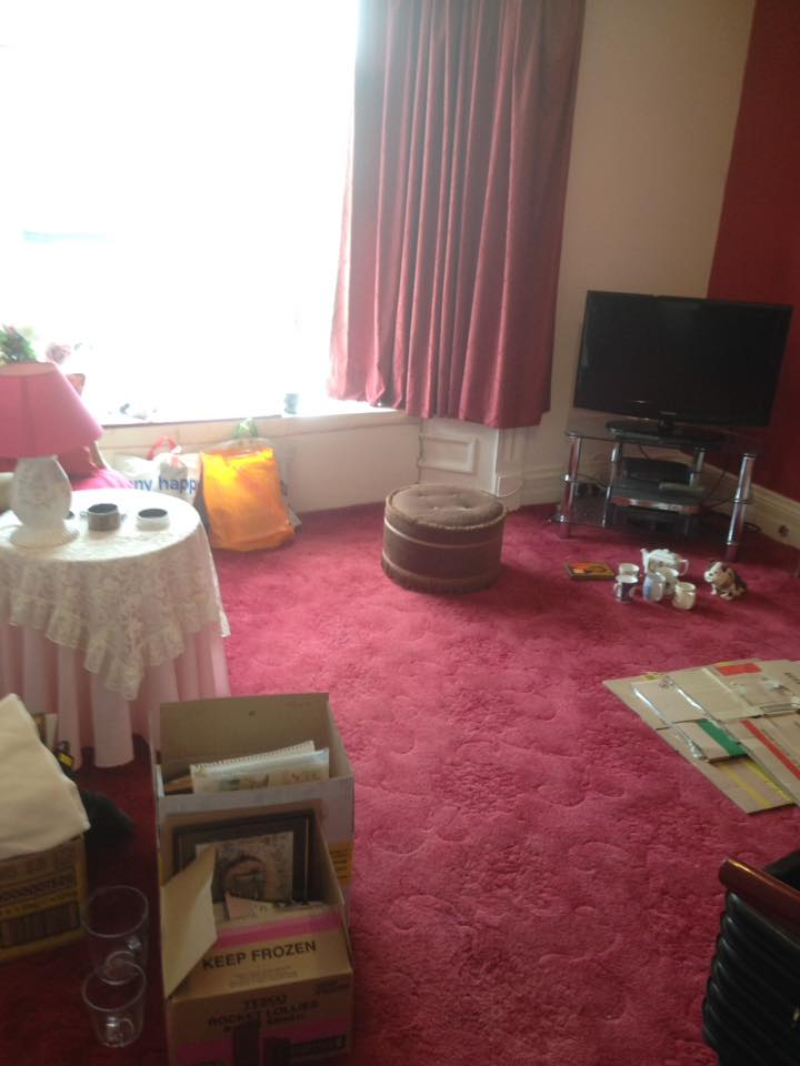 2 Bedroom Upstairs Flat Clearance With Yard Cleanup In South Shields